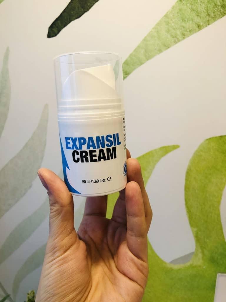 Expansil Cream efekty działanie
