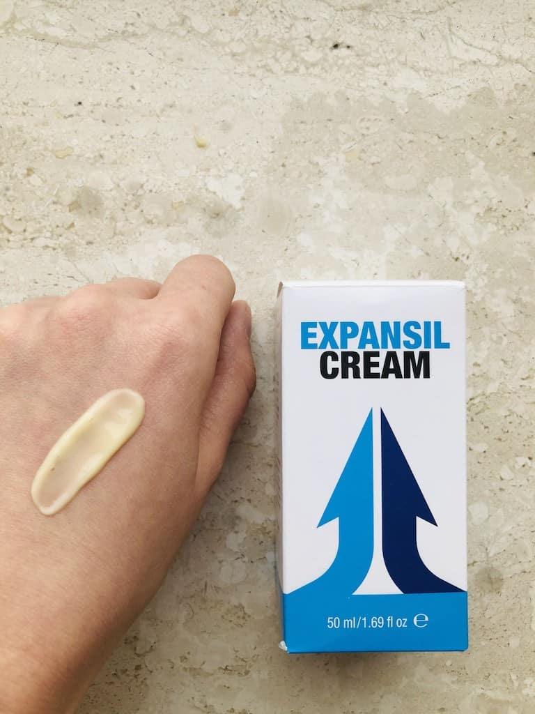 Expansil Cream jak używać wygląd